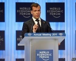 Комментарии по поводу речи Медведева в Давосе