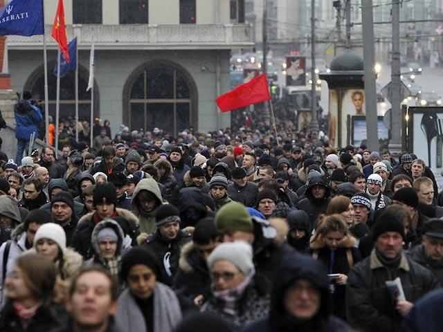 Митинг на Болотной площади Москвы