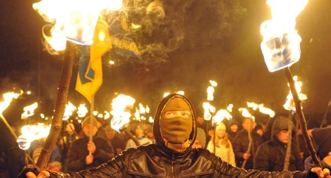 Националисты проведут массовые факельные марши в честь Бандеры по всей Украине