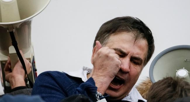 Саакашвили: Вы у миллионов людей спросите, я должен иметь украинское гражданство, или какой-то Геращенко