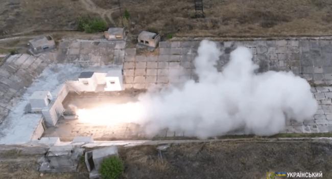 Цимбалюк: это самое важное событие – прошли успешные испытания украинского ракетного комплекса «Гром-2»