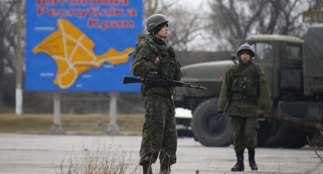 Политик РФ: Крым – это не спорная, а захваченная Россией земля