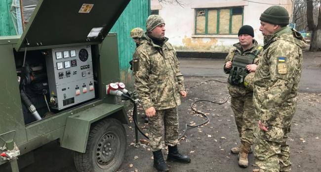 У 2018-му армія переходитиме з опалювання дровами на електричні теплоносії