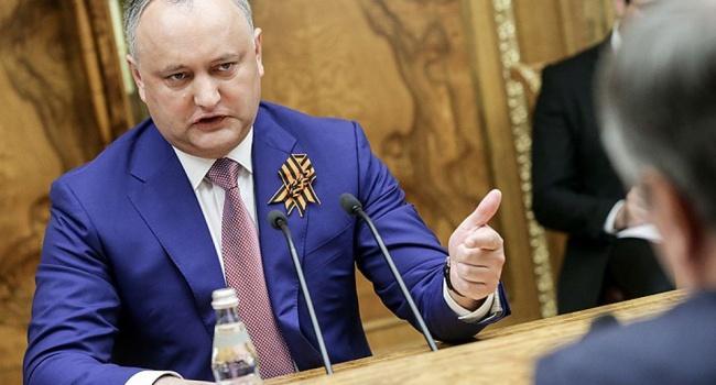 Конституционный суд Молдовы хочет начать уголовное дело против Игоря Додона