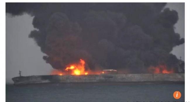 ЧП у берегов Китая: все 32 члена экипажа танкера погибли