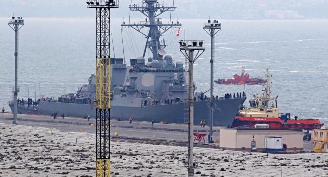 В одесский порт зашел первый в этом году американский эсминец
