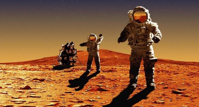 Ученые: Полеты на Марс опасны для космонавтов