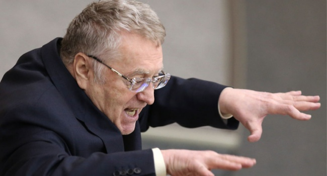 Реакция на оружие США: «Жириновский с пеной у рта угрожает уничтожить Украину», - журналист