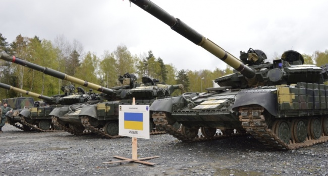 Украина в 2017 году продала танков более чем на 3 миллиарда