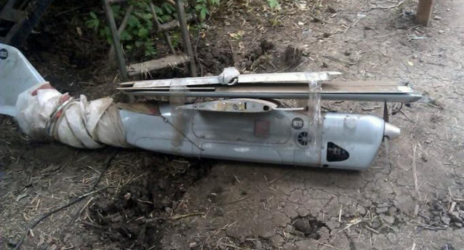 Уже третий: в зоне АТО военные ВСУ сбили российский беспилотник