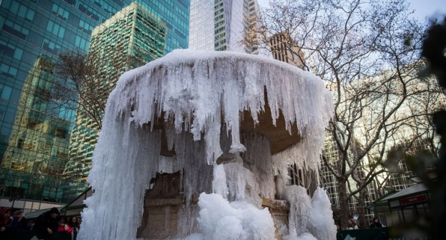 И это не шутка: в сети показали, что такое аномальные морозы в США