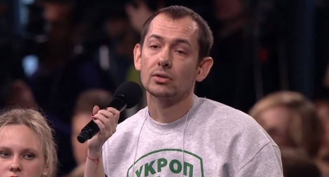 Во время эфира Цимбалюк поставил на место 4 «набросившихся» на него российских ведущих