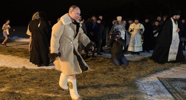 Журналист: «Я тоже хочу валенки и тулуп, как у Путина. Я их потом с него сниму, после приговора»