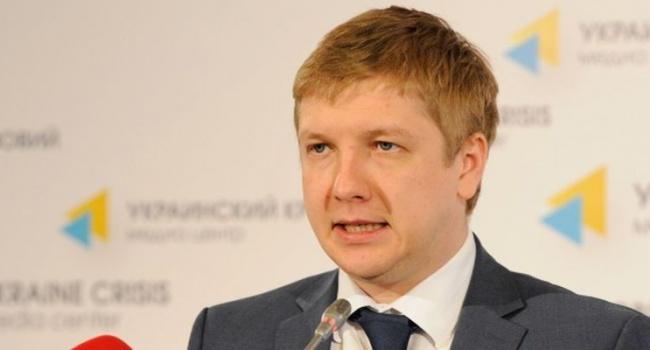 Коболев: отказ от закупки газа у РФ равен выстрелу в самого себя