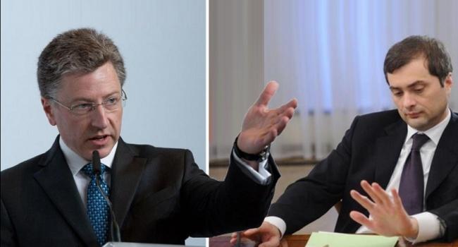 Волкер рассказал, зачем он встретится с Сурковым