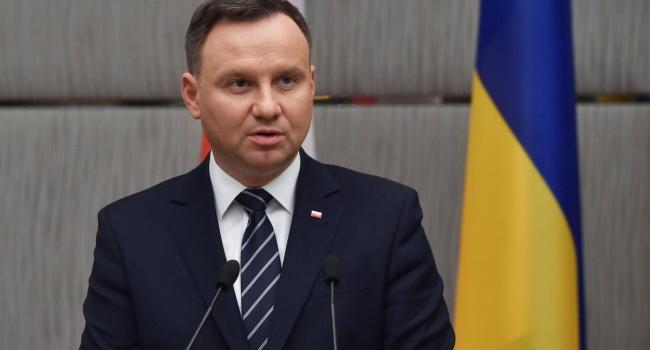 Дуда – России: «Оставьте Украину»