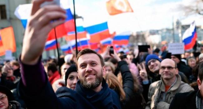Активисты антипутинского митинга в Москве: «Путин – трус! 4 срок – тюремный! Путина ждет Гаага и Ганьба!»