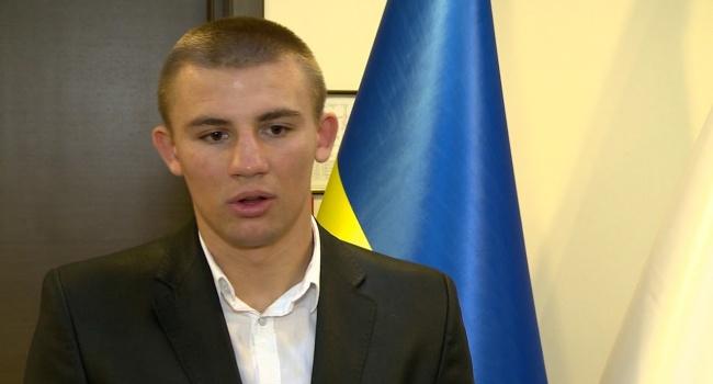 Украинец, признанный лучшим боксером 2017 года, выступил в РФ с мощной речью