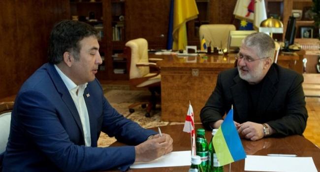 Нусс: прощай «Михомайдан». Да здравствует «БеняМайдан»! Саакашвили сменил спонсора