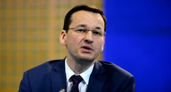 Моравецкий прокомментировал «бандеровский закон» в Польше