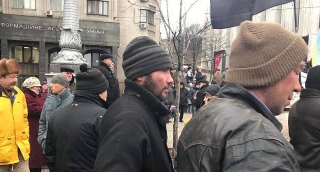 Саакашвили собирает самых нищих и обездоленных, которыми руководят «кукловоды», – Олешко