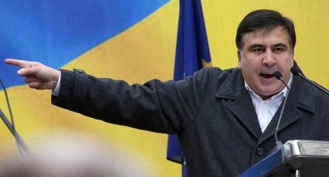 Саакашвили назвал Енина лжецом и мерзавцем