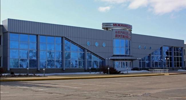 В Интернете показали, что осталось от аэропорта в Луганске