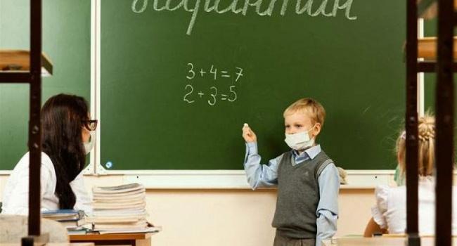 Школы в Украине массово закрывают на карантин