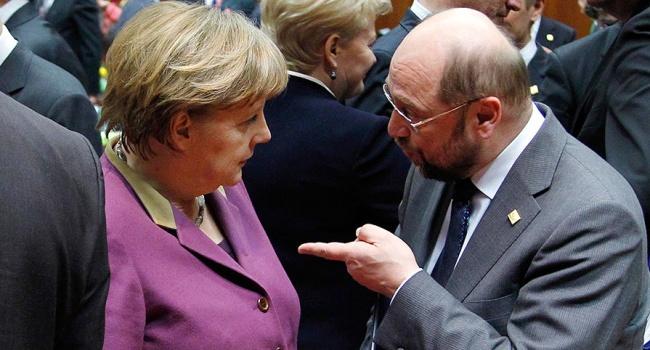 Меркель и Шульц наконец-то поделили должности