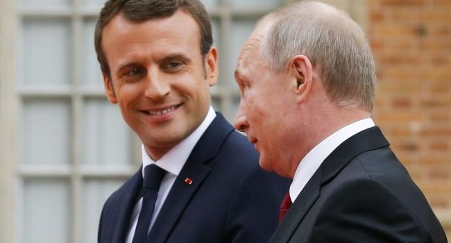 Важный разговор: Путин уговорил Макрона приехать в Россию