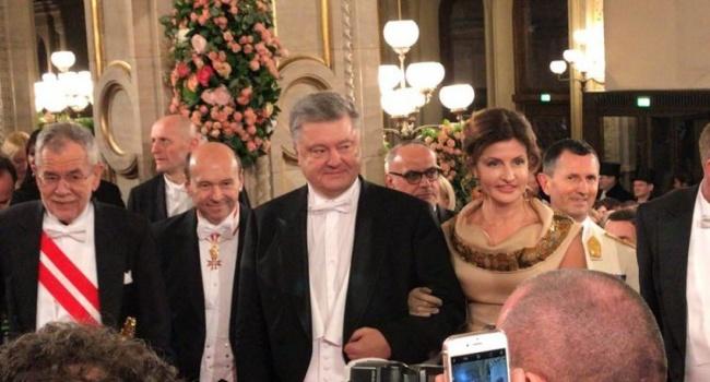 Павел Нусс: на Венском балу Порошенко показал виртуозы дипломатического «брей-данса»