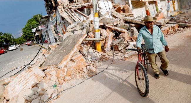 На побережье Мексики произошло еще одно мощное землетрясение