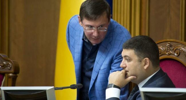 Лещенко: в своем письме к Гройсману, Луценко фактически просит отстранить Данилюка
