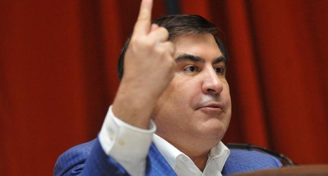 Саакашвили: «Порошенко – это мелкий, дешевый, испуганный разводчик! Он не президент и даже не человек»