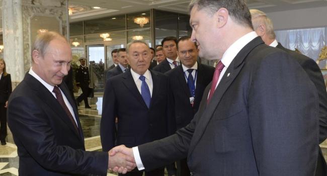 Между Порошенко и Путиным состоялся разговор, — СМИ