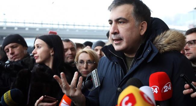 Саакашвили снова спрогнозировал развал Украины