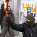 У Порошенко осудили и назвали «вандализмом» акцию националистов в Киеве
