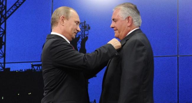Тиллерсон заявил об изменении динамики в отношениях с Путиным