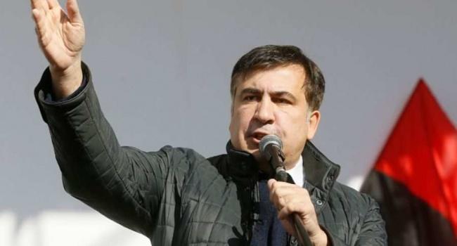 В Госпогранслужбе запретили Саакашвили въезд в Украину