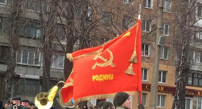 Гайдукевич: празднование 23 февраля в Кривом роге – это подтверждение того, что СССР никуда не делся, он просто выжидает рядом с вами