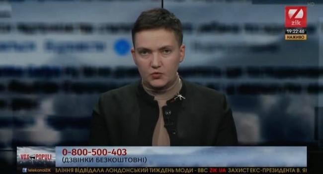 Савченко получила новые вводные от Медведчука – никаких миротворцев – иначе война