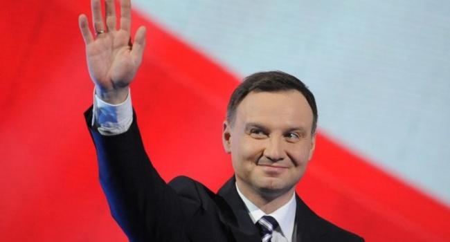 Украинские националисты вместе с гитлеровцами совершили «геноцид против поляков», но Польша хочет дружбы с Украиной, - Дуда