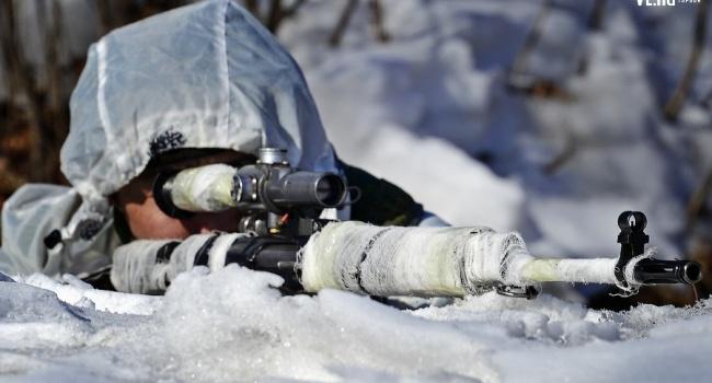На Донбасс зашла группа сербских снайперов: уже убили как минимум 6 бойцов ВСУ