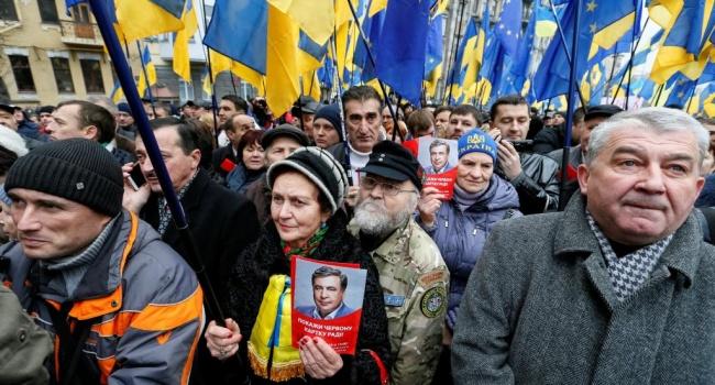 Олешко: «патриотам» в Украине можно брать деньги на митинги в Киеве из Москвы, главное кричать «власть долой»