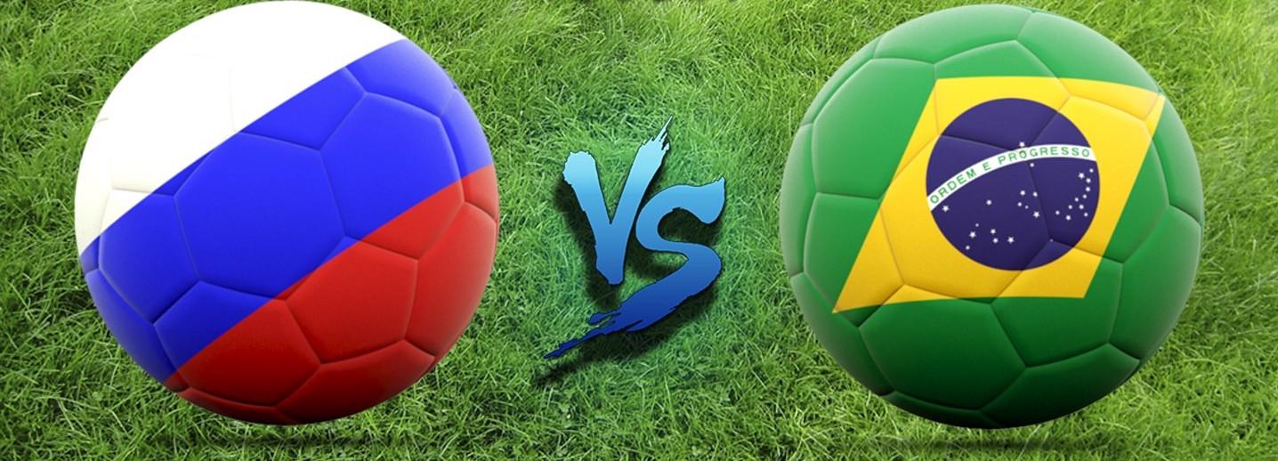 Товарищеский матч Россия-Бразилия 2018 в Лужниках