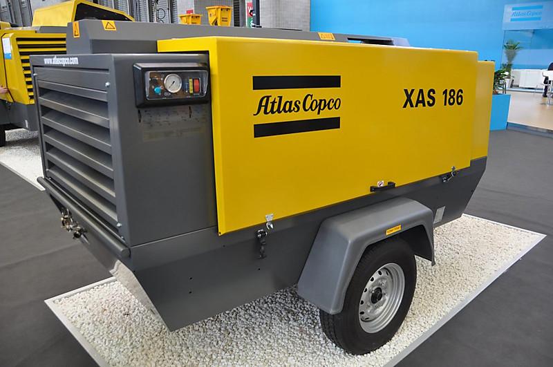 Компрессорные станции XAS от компании Atlas Copco