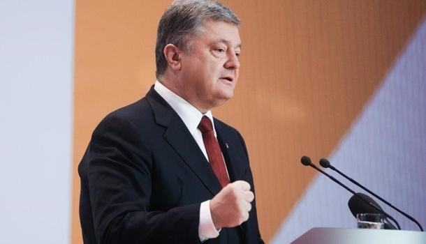Порошенко призвал вынудить Россию к миру путем усиления санкций