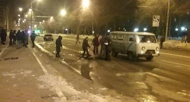 В центре Донецка прогремел очередной взрыв, погиб человек
