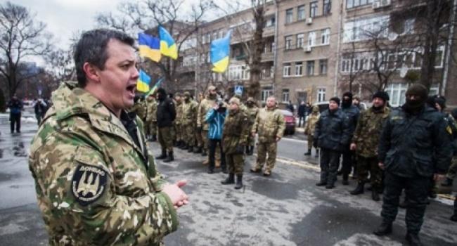 Олешко: за полчаса до штурма «Михомайдана» Семенченко вывозил какую-то большую сумку, вполне вероятно, что с оружием
