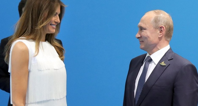 «Рыбалка и материнский капитал», - тема беседы Путина и Мелании Трамп